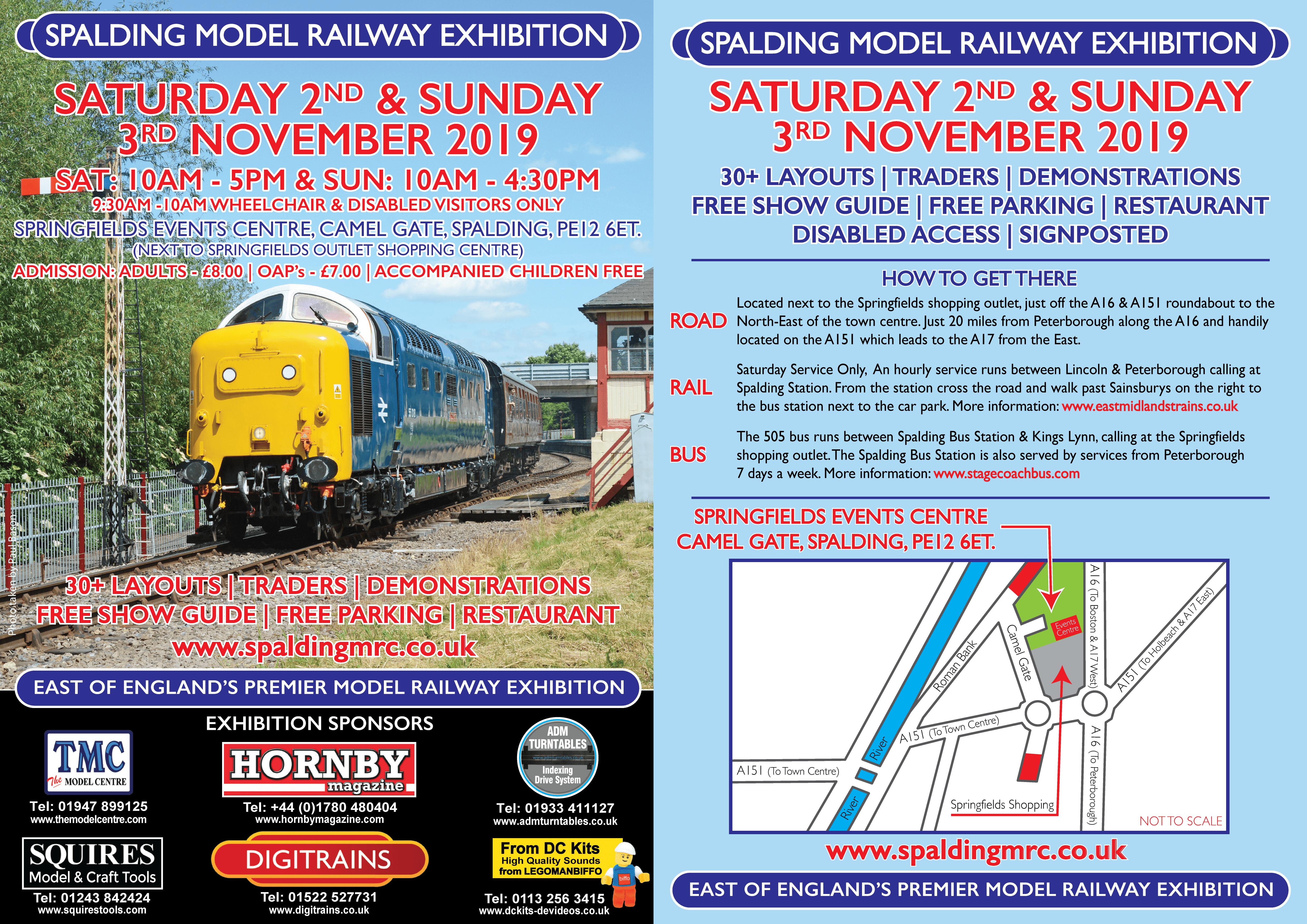 Spalding Model Railway Exhibition – Spalding Model Railway Club